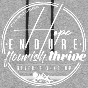 Hope Endure - Colorblock Hoodie