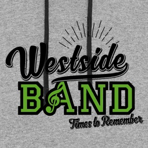 Westside Band Times to Remember - Colorblock Hoodie