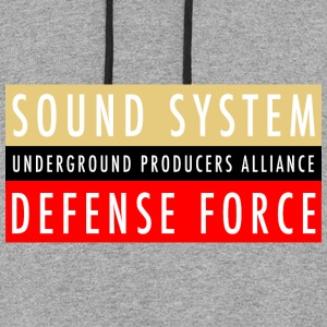 UPA Sound System Defense Force - Colorblock Hoodie