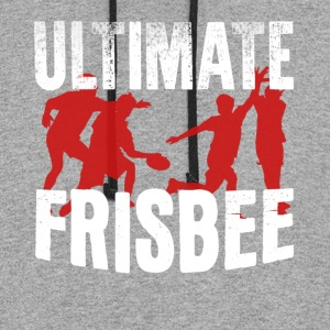 Ultimate Frisbee Shirt - Colorblock Hoodie