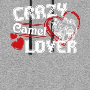 Camel Lover Shirts - Colorblock Hoodie