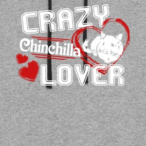 Chinchilla Lover Shirt - Colorblock Hoodie