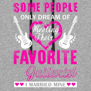 Guitarist Wife Shirt - Colorblock Hoodie
