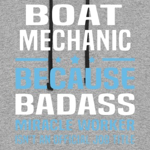 Boat Mechanic T Shirt - Colorblock Hoodie