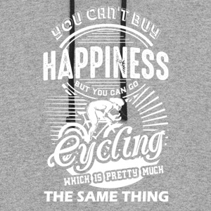 Cycling Happiness Shirt - Colorblock Hoodie