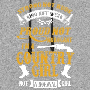 I'm a Country-girl not a normal girl - Colorblock Hoodie