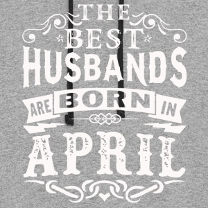 The best husbands are born in April shirt - Colorblock Hoodie