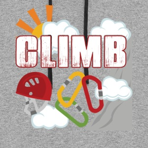 ROCK CLIMBING CLIMB SHIRT - Colorblock Hoodie