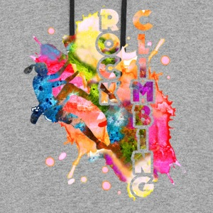 ROCK CLIMBING TEE SHIRT - Colorblock Hoodie