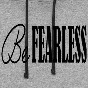 BE FEARLESS - Colorblock Hoodie