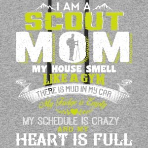 I Am A Scout Mom My House Smell Like A gym T Shirt - Colorblock Hoodie