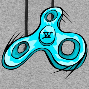 Willow Clothing Fidget Spinner - Colorblock Hoodie