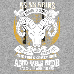 AS a aries I have 3 sides - Colorblock Hoodie