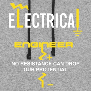 Electrical Engineer Shirt - Colorblock Hoodie
