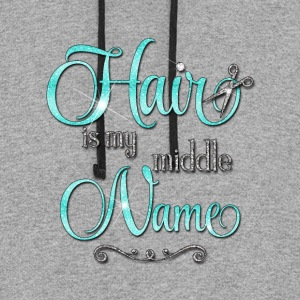 Hair is my middle Name - Colorblock Hoodie