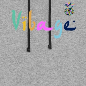 classic vibage - Colorblock Hoodie
