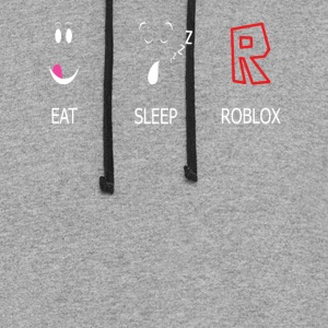 Eat Sleep and ROBLOX Tshirt - Colorblock Hoodie