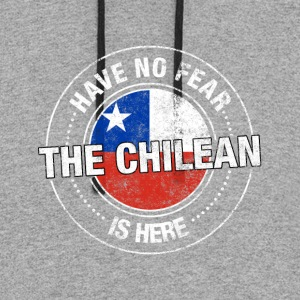 Have No Fear The Chilean Is Here - Colorblock Hoodie