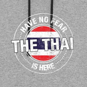 Have No Fear The Thai Is Here - Colorblock Hoodie