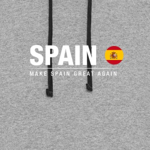 Make Spain Great Again - Colorblock Hoodie