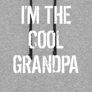 I'm The Cool Grandpa Grandparents Day - Colorblock Hoodie