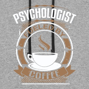 Psychologist Fueled By Coffee - Colorblock Hoodie