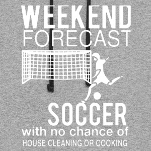 WEEKEND FORECAST SOCCER SHIRT - Colorblock Hoodie