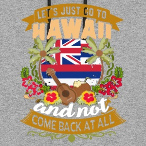 LET'S JUST GO TO HAWAII SHIRT - Colorblock Hoodie