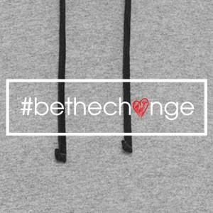 #BeTheChange T-shirts - Colorblock Hoodie