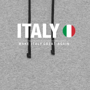 Make Italy Great Again - Colorblock Hoodie