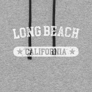 Long Beach California - Colorblock Hoodie