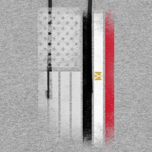Egyptian American Flag - Colorblock Hoodie