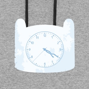 Adventure Clock - Colorblock Hoodie