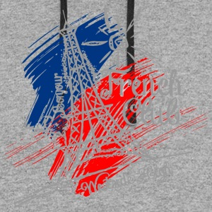 Bonjour French Club Westside High - Colorblock Hoodie