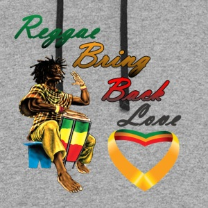 Reggae Bring Back Love - Colorblock Hoodie