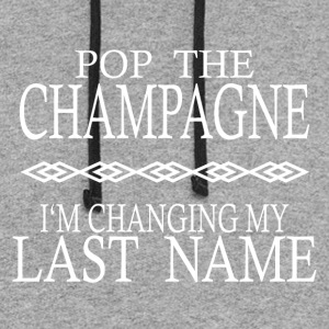 POP THE CHAMPAGNE STAG NIGHT HEN NIGHT - Colorblock Hoodie
