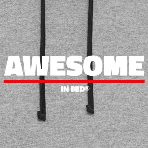 Awesome In Bed - Colorblock Hoodie