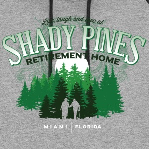 Shady Pines Retirement Home - Colorblock Hoodie