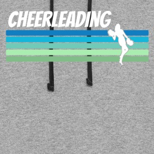 Retro Cheerleading - Colorblock Hoodie