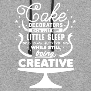 Cake Decorators Shirt - Colorblock Hoodie