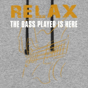 Bass Player - Colorblock Hoodie