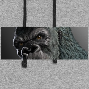 King Kong has and eye on you! - Colorblock Hoodie