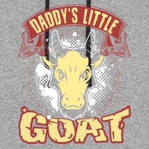 DADDY'S LITTLE GOAT SHIRT - Colorblock Hoodie