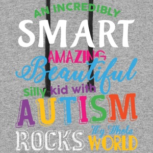 Autism My Whole Rocks World T Shirt - Colorblock Hoodie
