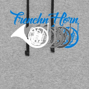 French Horn Shirt - Colorblock Hoodie