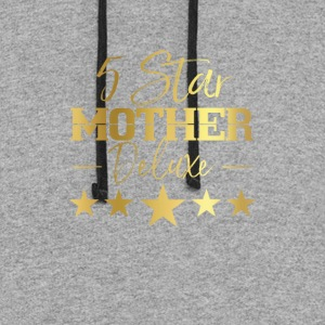 5 Star Mother Deluxe - Colorblock Hoodie