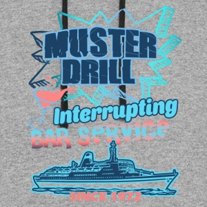 Muster Drill Cruise Shirt - Colorblock Hoodie
