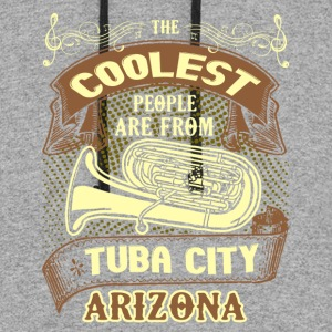 COOLEST TUBA CITY SHIRT - Colorblock Hoodie
