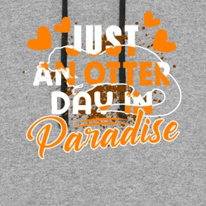 OTTER DAY PARADISE SHIRT - Colorblock Hoodie