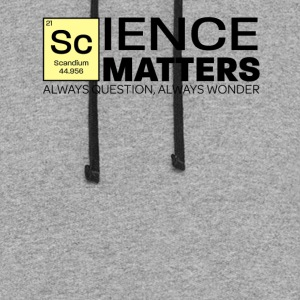 Show Them Science Matters - Colorblock Hoodie